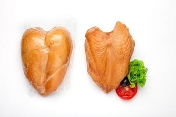 Грудка курин. копченая