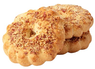 Кольцо песочное с орехом