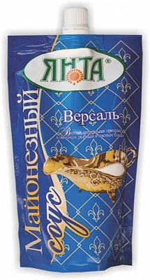 """Соус майонезный """"Версаль"""" с массовой долей жира 30%, дой-пак с доз. 0,2 кг"""