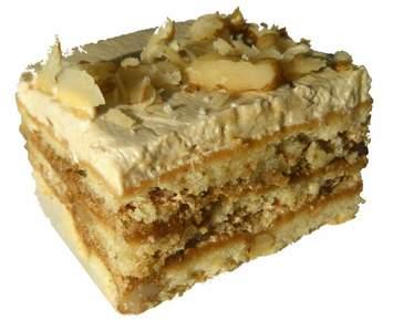 Пирог бисквитный с разл. фрукт. нач.