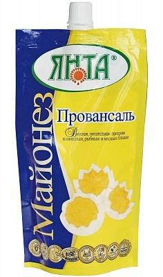 """Майонез """"Провансаль"""" с массовой долей жира 67%, пакет 0,25 кг."""