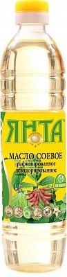 Масло соевое рафинированное дезодорированное высшего сорта, бутылка 0,5 л