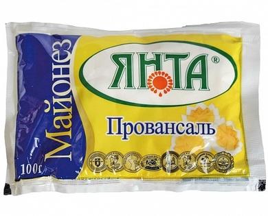 """Майонез """"Провансаль"""" с массовой долей жира 67%, пакет 0,1 кг."""