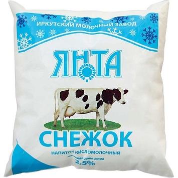 Снежок 2,5% п/пак 0,45 кг