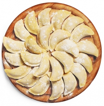 Вареники с картофелем и мясом 0,9 кг.