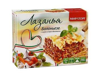 Лазанья Болоньезе с сыром