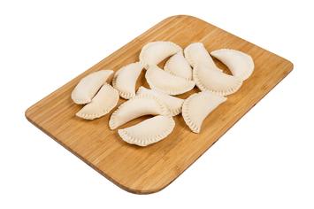 Вареники с картофелем и ргибами 0,9 кг.